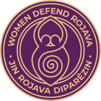 Logo Women defend Rojava